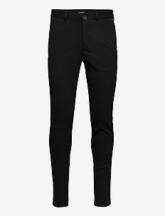 JJIMARCO JJPHIL JERSEY NOR BLACK NOOS - pantalons chino - black