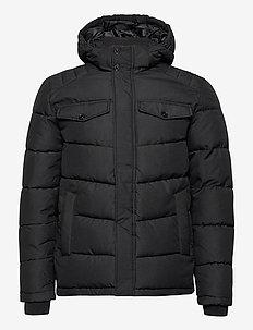 JJREGAN PUFFER LTN - padded jackets - black