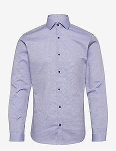 JPRBLAVIGGO DOBBY SHIRT L/S NOOS - businesskjorter - cashmere blue