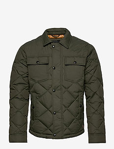 JJMALBERT QUILT JACKET - quilted - forest night