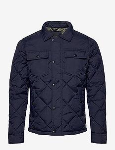 JJMALBERT QUILT JACKET - quilted - navy blazer