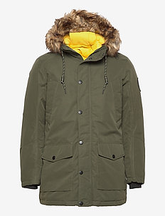 JJSKY PARKA JACKET LTN - parkas - forest night