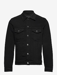 JJIALVIN JJJACKET AGI 037 - light jackets - black denim