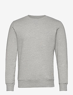 JJMELANGE SWEAT CREW NECK - sweats - light grey melange