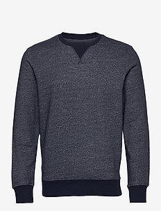 JJMELANGE SWEAT CREW NECK - overdele - navy blazer