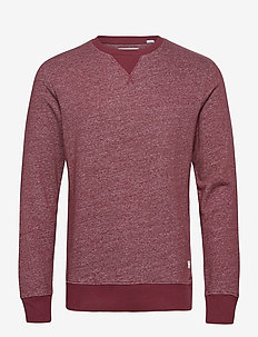 JJMELANGE SWEAT CREW NECK - tops - port royale