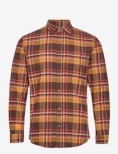 JPRBLUJAMIE SHIRT L/S ONE POCKET - rutiga skjortor - cumin