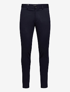 JJIMARCO JJPHIL JERSEY NOR DRK NAVY - suit trousers - dark navy