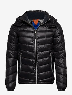 JORROLL PUFFER JACKET LTN - padded jackets - black