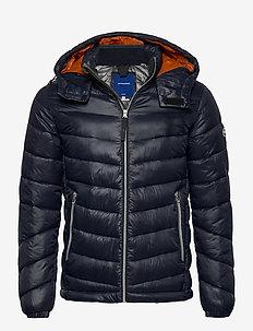 JORROLL PUFFER JACKET LTN - padded jackets - navy blazer