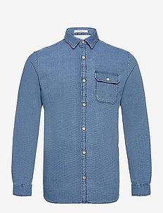 JORNICKI SHIRT LS - basic skjortor - light blue denim