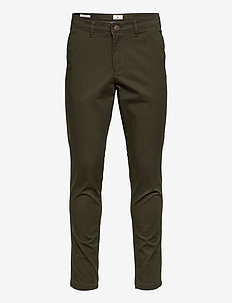 JJIMARCO JJBOWIE SA FOREST NIGHT NOOS - pantalons chino - forest night