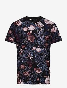 JPRBLAVINCENT TEE SS CREW NECK - kortärmade t-shirts - black