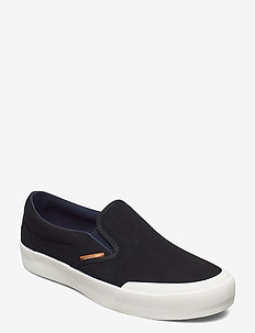 JFWORSON SYN SUEDE COMBO ANTHRACITE - slip-on schoenen - anthracite