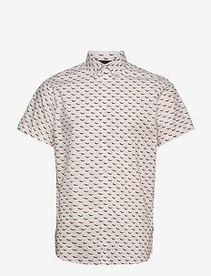 JORANDREW SS SHIRT SH - kortärmade skjortor - white