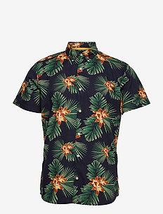 JORMERIDA SS SHIRT SH - kortärmade skjortor - navy blazer
