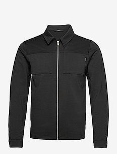 JPRBLAPHIL SWEAT JACKET LTN - basic sweatshirts - black
