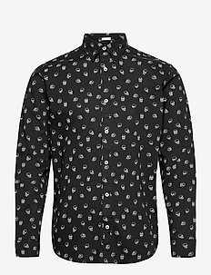 JORSCOTT SHIRT LS - casual skjortor - black