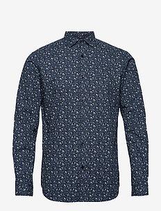 JPRBLABLACKBURN SHIRT L/S W20 - casual skjortor - dark navy