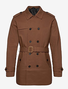 JPRBLAPALMER TRENCHCOAT - trench coats - dark earth