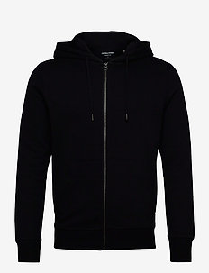 JJEBASIC SWEAT ZIP HOOD NOOS - hoodies - black