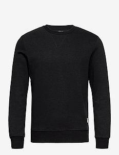 JJEBASIC SWEAT CREW NECK NOOS - tops - black