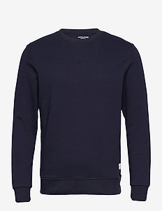 JJEBASIC SWEAT CREW NECK NOOS - Överdelar - navy blazer