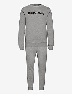 JACLOUNGE SET - pyjamas - light grey melange