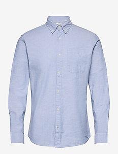 JJEOXFORD SHIRT L/S S21 NOOS - casual shirts - cashmere blue