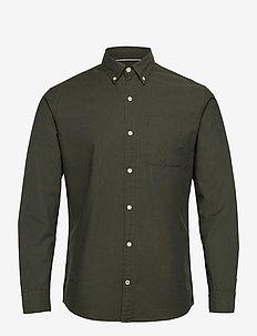 JJEOXFORD SHIRT L/S S21 - casual skjortor - forest night