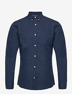 JJEOXFORD SHIRT L/S S21 - casual skjortor - navy blazer