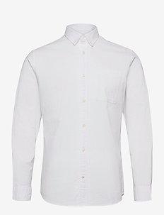 JJEOXFORD SHIRT L/S S21 - casual skjortor - white