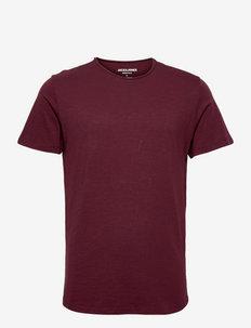 JJEBASHER TEE O-NECK SS - basic t-shirts - port royale