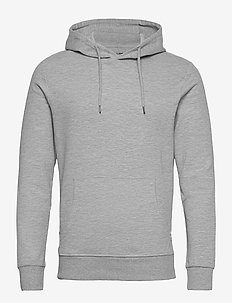 JJEBASIC SWEAT HOOD NOOS - hoodies - light grey melange