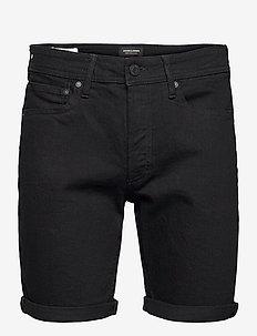 JJIRICK JJORIGINAL SHORTS NA 029 - jeansshorts - black denim