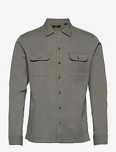JPRBLATENCEL SHIRT L/S - rutiga skjortor - sedona sage
