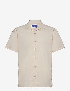 JORTOWER SHIRT SS - basic skjortor - seedpearl