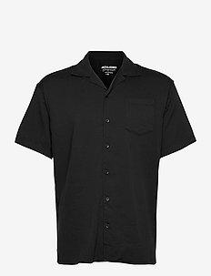 JORALEC SHIRT SS BLK - basic skjortor - tap shoe