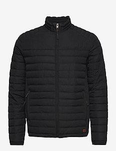 JJBASE LIGHT COLLAR JACKET - vestes matelassées - black