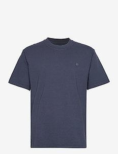 JPRBLUJULIO TEE SS CREW NECK - basic t-shirts - peacoat