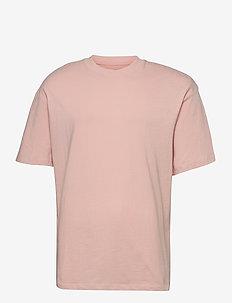 JORBRINK TEE SS CREW NECK - basic t-shirts - peachskin