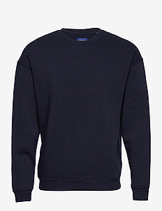 JORBRINK SWEAT CREW NECK - basic sweatshirts - navy blazer