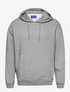 JORBRINK SWEAT HOOD - basic sweatshirts - light grey melange