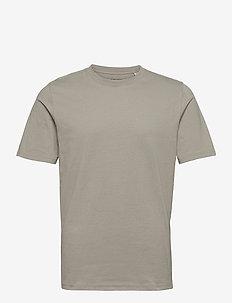 JPRBLAWAYN TEE SS CREW NECK - basic t-shirts - elephant skin