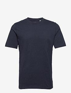 JPRBLAWAYN TEE SS CREW NECK - basic t-shirts - navy blazer