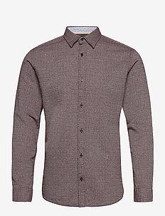 JORBARRET DETAIL SHIRT L/S FU - basic skjortor - port royale
