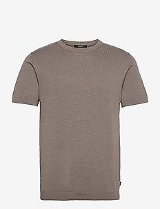 JPRBLAIGOR KNIT SS - basic t-shirts - new sage
