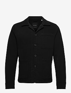 JJILUCAS JJJACKET AKM BLACK NOOS - denimjakker - black
