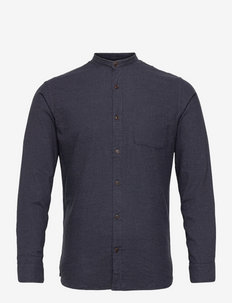 JJEBAND HEATHER  SHIRT L/S - basic skjortor - navy blazer