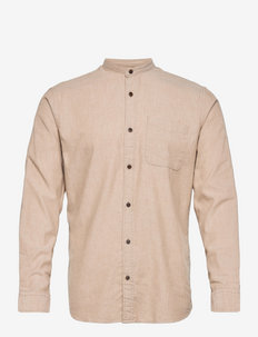 JJEBAND HEATHER  SHIRT L/S - basic skjortor - oatmeal